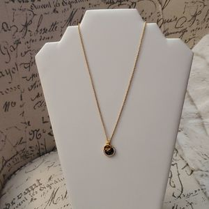 Kate Spade Pave Charm Necklace NWT